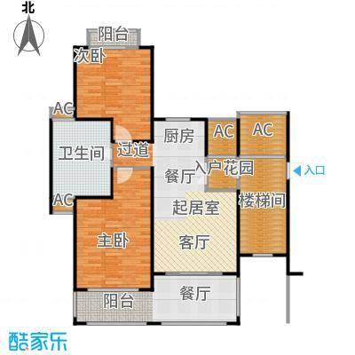 顺泽・福湾J户型2室2厅1卫