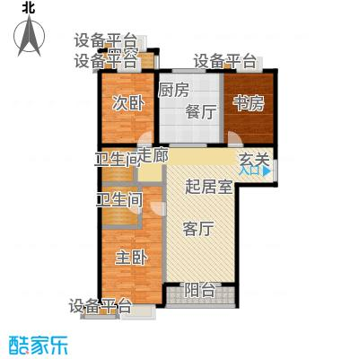 世纪东方城(远景)138.14-户型