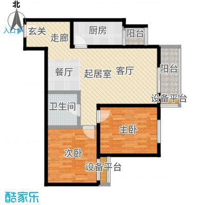 梵谷水郡(ZAMA三期)B区B2户型