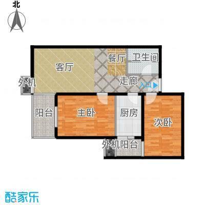 上东三角洲92.27㎡1.2.3号楼DD反户型