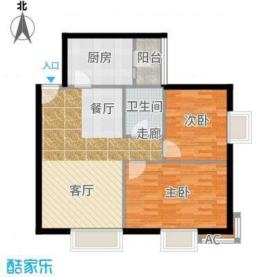 半岛公寓8-3-03-2户型
