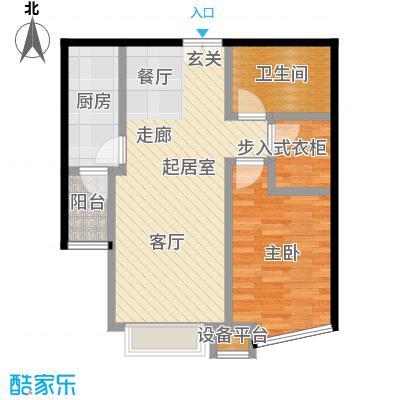 世纪东方城(远景)1#楼庚1单元S户型