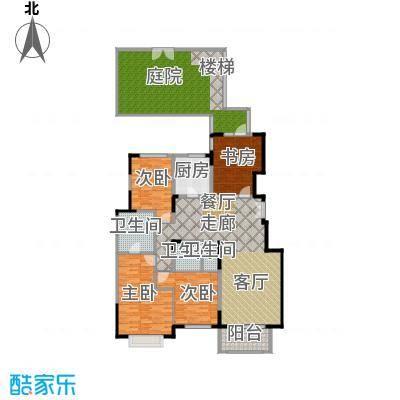 亿城叠山院158.00㎡4室2厅2卫1厨户型4室2厅2卫