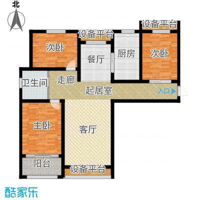 清山・漫香林户型3室1卫1厨