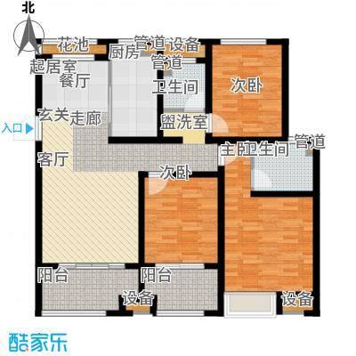 雨润新城120.00㎡G7户型3室2厅2卫