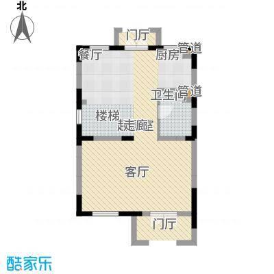 世外桃苑・峰景湾A户型 1楼户型