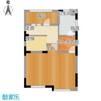 世外桃苑・峰景湾A户型 3楼户型