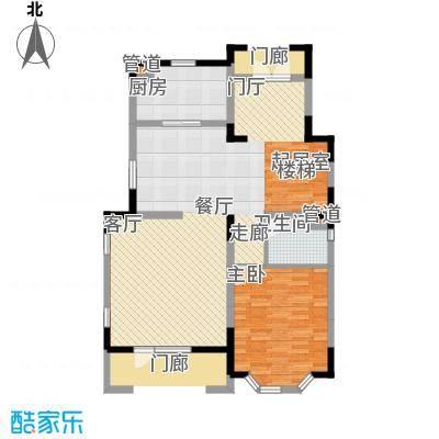世外桃苑・峰景湾B户型 1楼户型