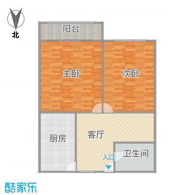 莲溪二村户型图