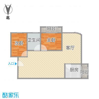 中海瀛台二期户型图
