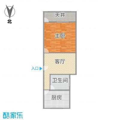 建业新村户型图