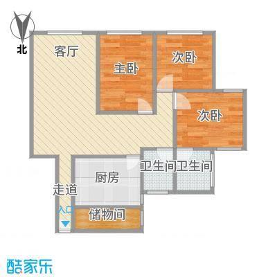 总统公寓户型图
