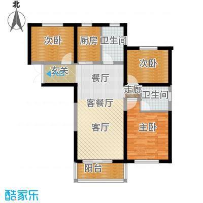 1御景龙庭三室两厅两卫