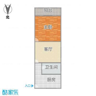 虹霞小区户型图
