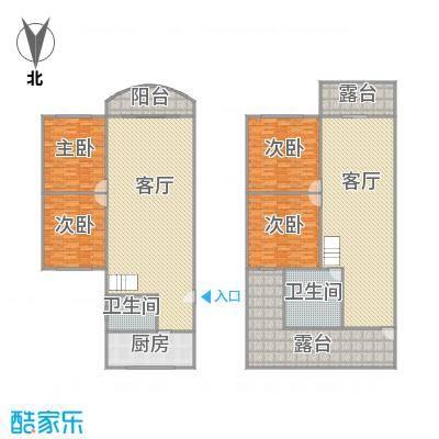 田林兰桂坊户型图