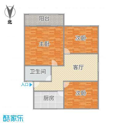 古美八村户型图
