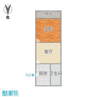 虹南小区户型图