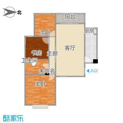 奥龙湾太原114户型3室1厅1卫1厨