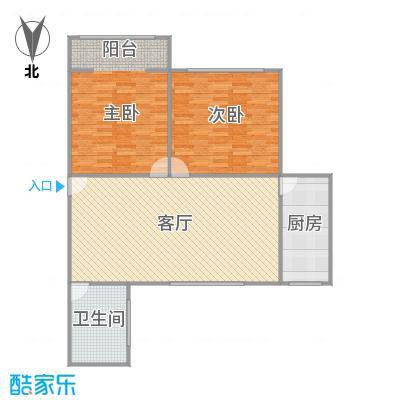 香山新村东北街坊户型图