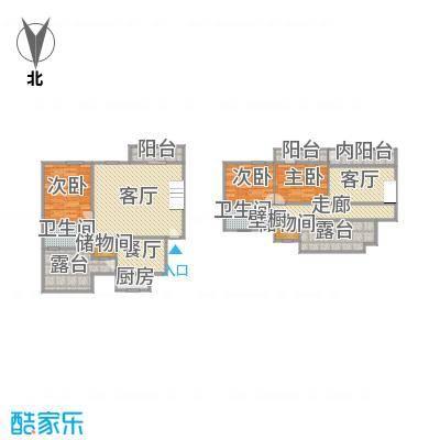 中星凉城苑户型图