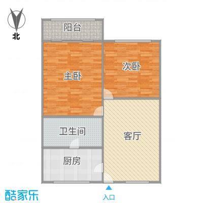 呼玛四村户型图
