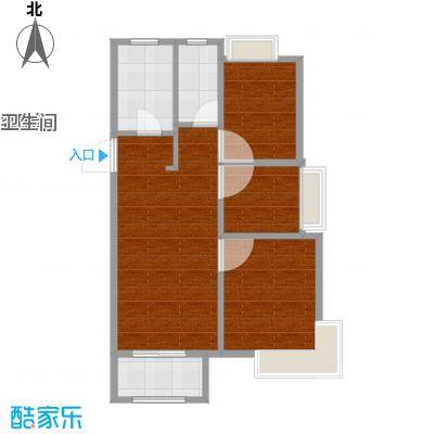 象屿品城B1户型图(ZM)-1