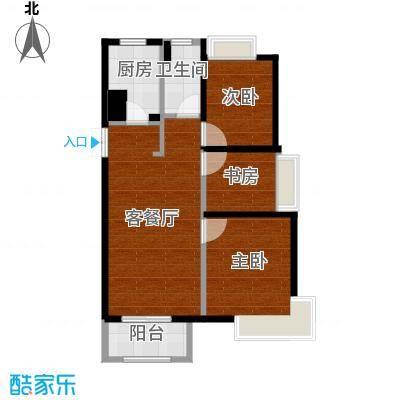 象屿品城B1户型图(ZM)-2