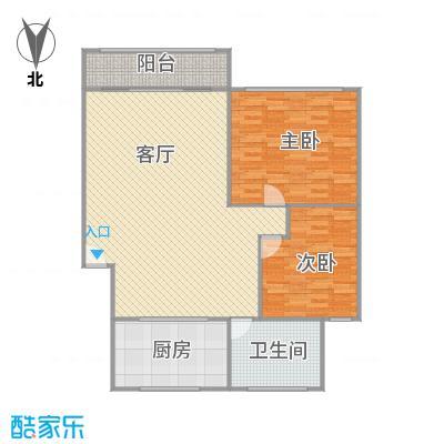 新江湾城时代花园户型图