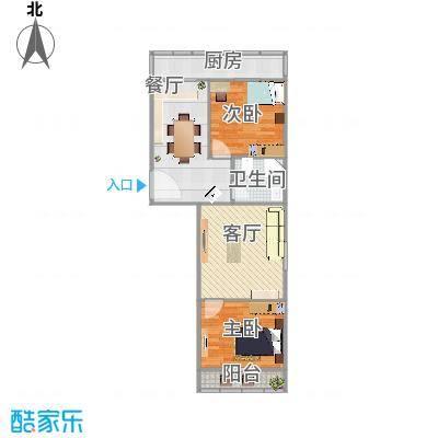 百花小区两室两厅