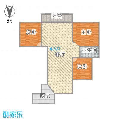 浦江风景苑户型图