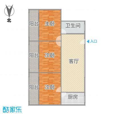 南天公寓户型图