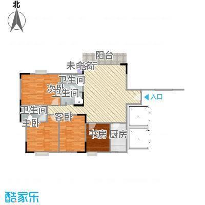 水北新村二期130平方户型图
