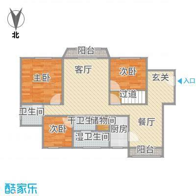 绿洲紫荆花园户型图