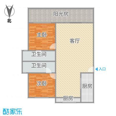 联鑫虹桥苑户型图