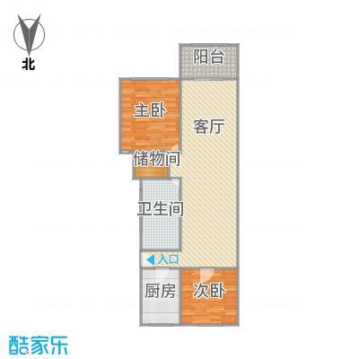 凯旋公寓户型图