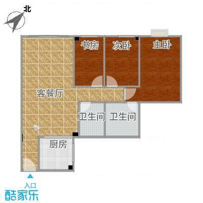 洛涛南区户型图