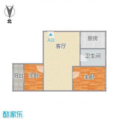 控江二村户型图