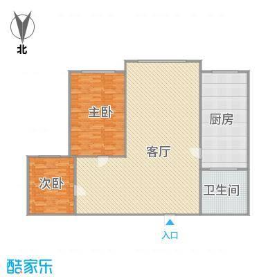 金澜名邸73A两室一厅