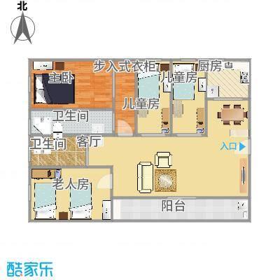林和西小区95坪四房两厅两卫