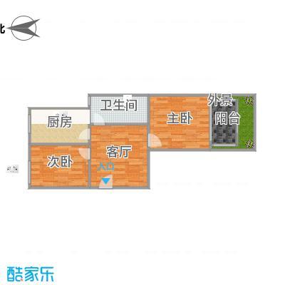 两室一厅101原户型