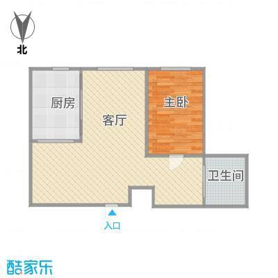 金澜名邸51A一室两厅