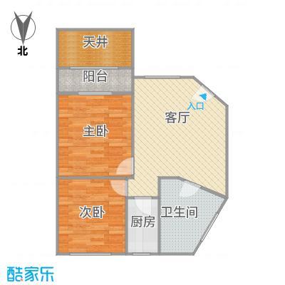 虹仙小区的户型图