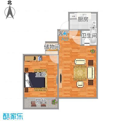 香河园中里5号楼两居全南户型