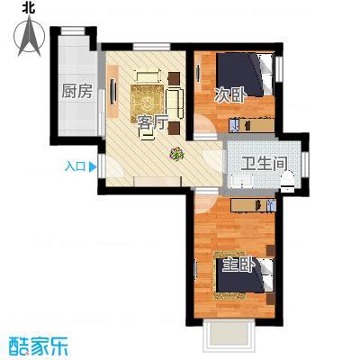 兰江新苑2室1厅1卫