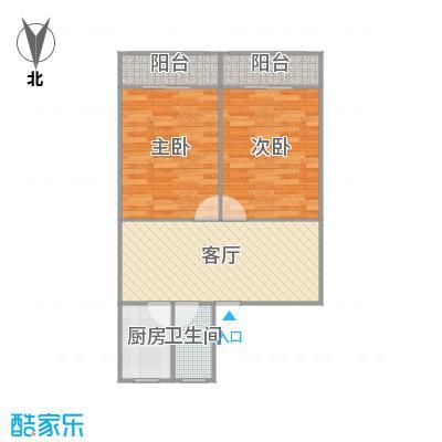 蔷薇二村的户型图