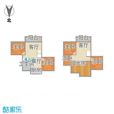 共康公寓的户型图