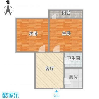 2室1厅的