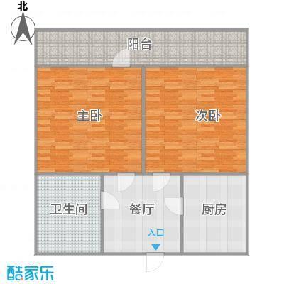 小户型2室1厅