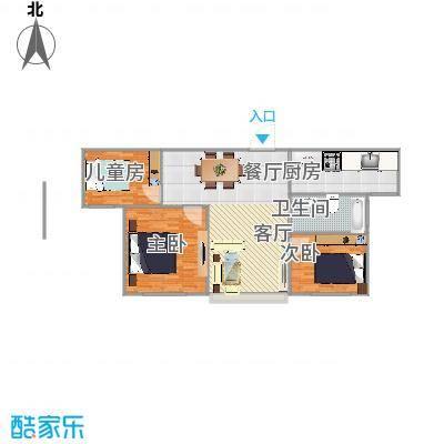 美晨雅阁3室2厅