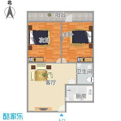 两室一厅中间户